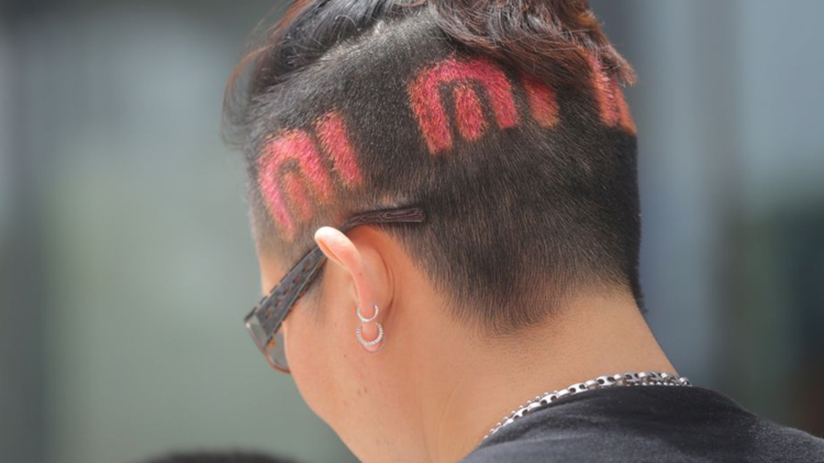 One committed Xiaomi fan. Image credit: Xiaomis official Weibo.
