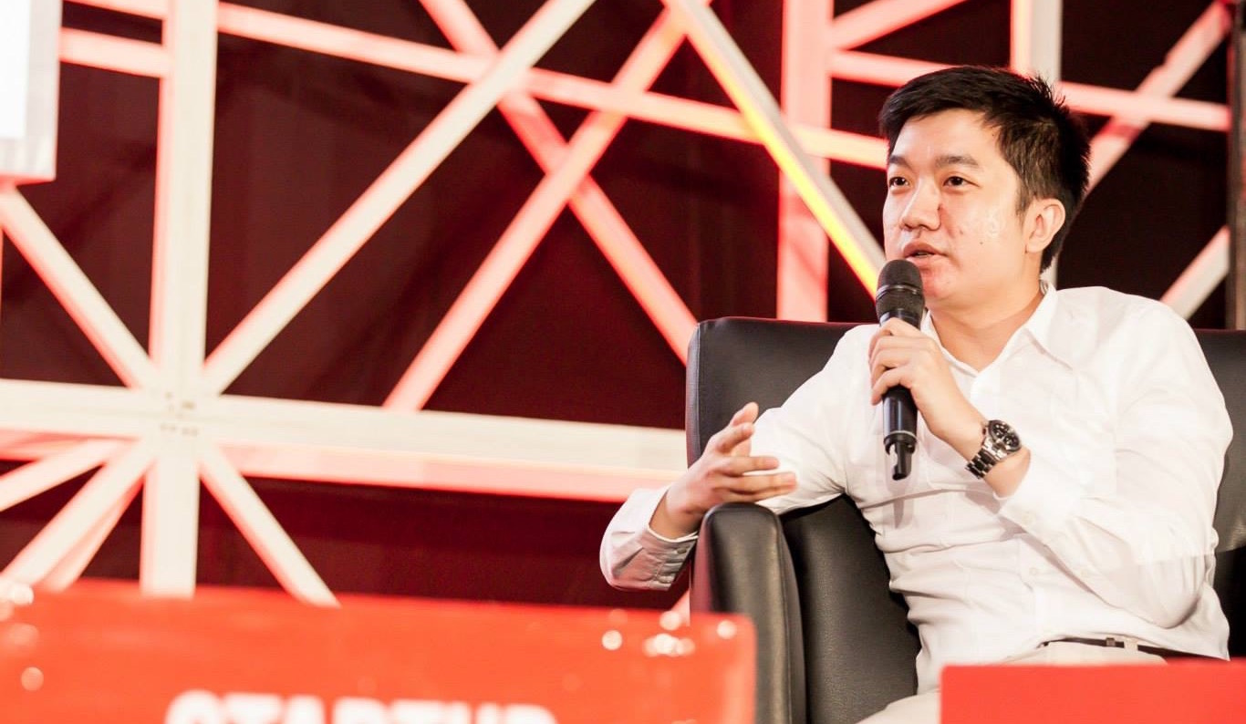William Tanuwijaya, the CEO dan Co-Founder of Tokopedia
