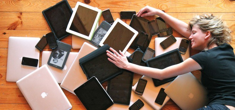 Using multiple devices: tablets, laptops, smartphones