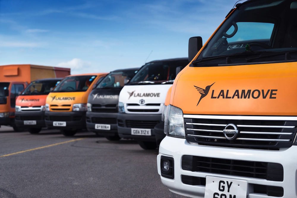 'Uber for deliveries' startup Lalamove