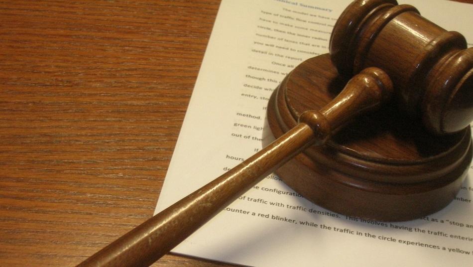 Judge's gavel - court