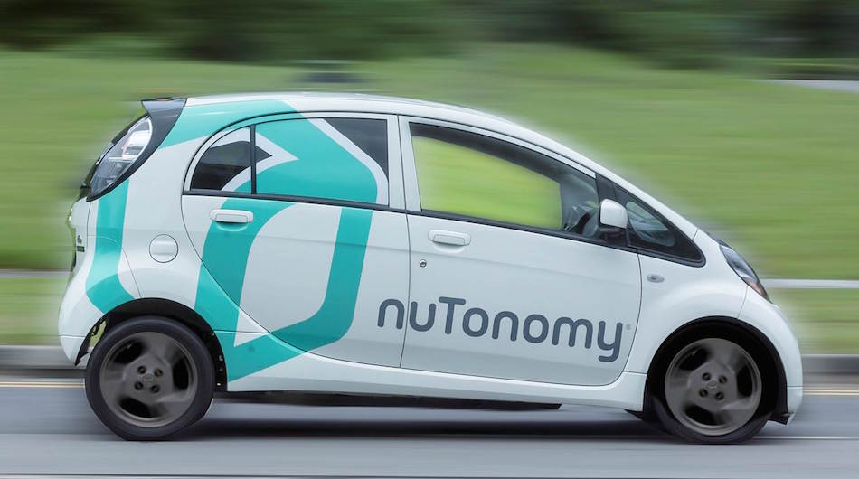 NuTonomy gets $16m for \'world\'s 1st driverless taxi service\'