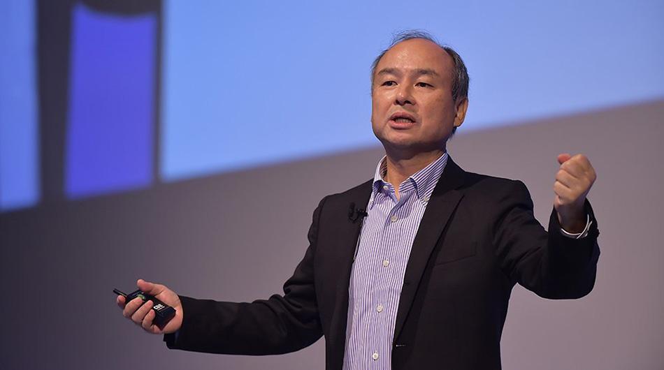 Masayoshi Son at SoftBank World 2016.
