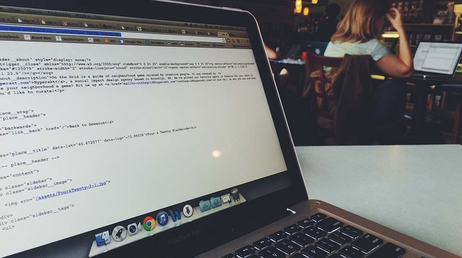 Programming in a cafe