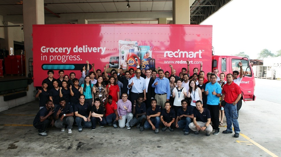 Redmart team photo