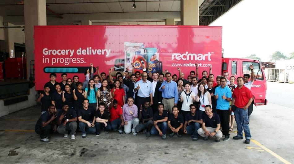 Redmart team photo
