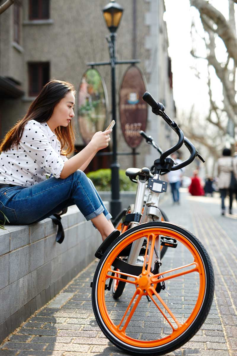In china mobike gets funding for bicycle sharing app for Mobile milano bike sharing