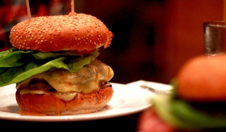 food, burger