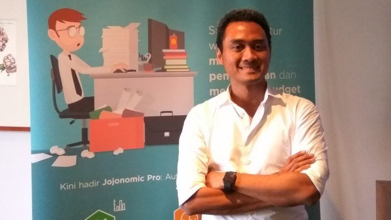 Indrasto Budisantoso, Jojonomic co-founder and CEO.