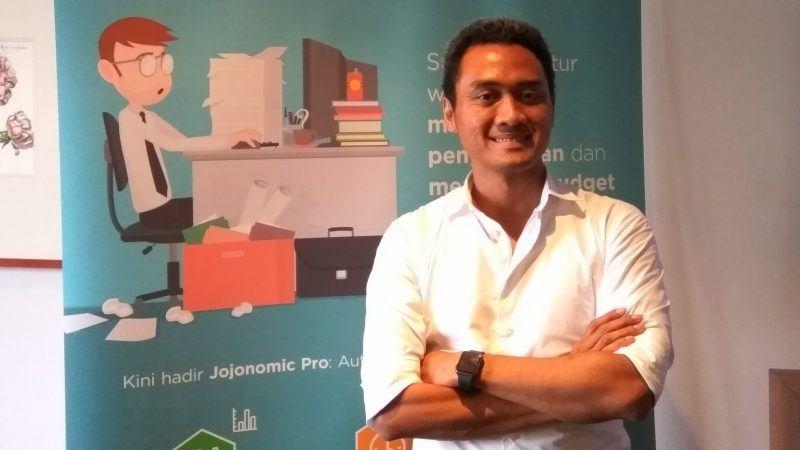 Indrasto Budisantoso, Jojonomic co-founder and CEO.