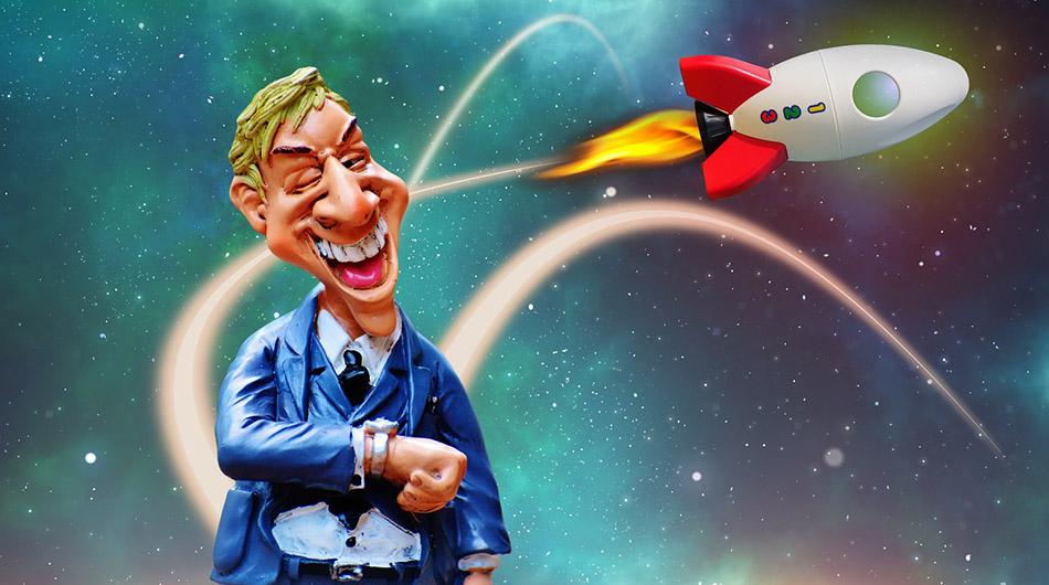 Rocket and investor.