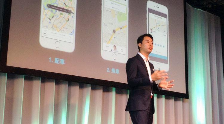 President of Uber Japan Masami Takahashi.
