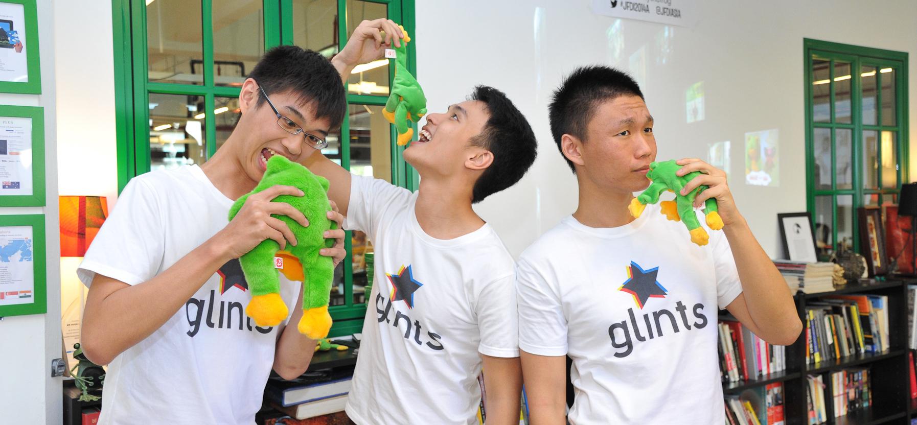 college dropouts raise million for youth job site glints glints team