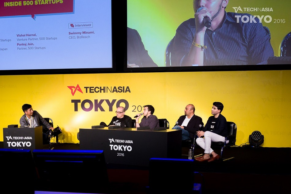 500 Startups panel at Tech in Asia Tokyo 2016