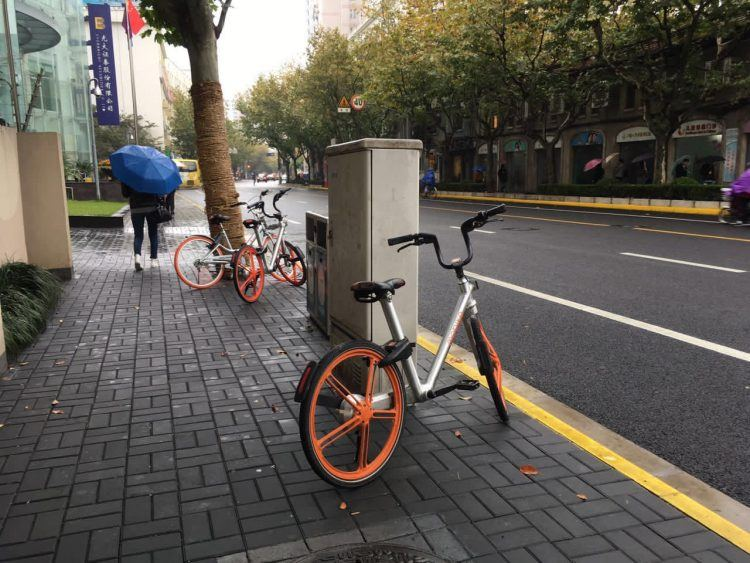 At last - Mobikes! Photo credit: Tech in Asia.
