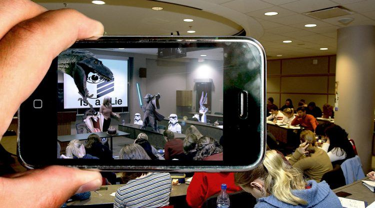 See a new world with augmented realityPhoto credit: Flickr