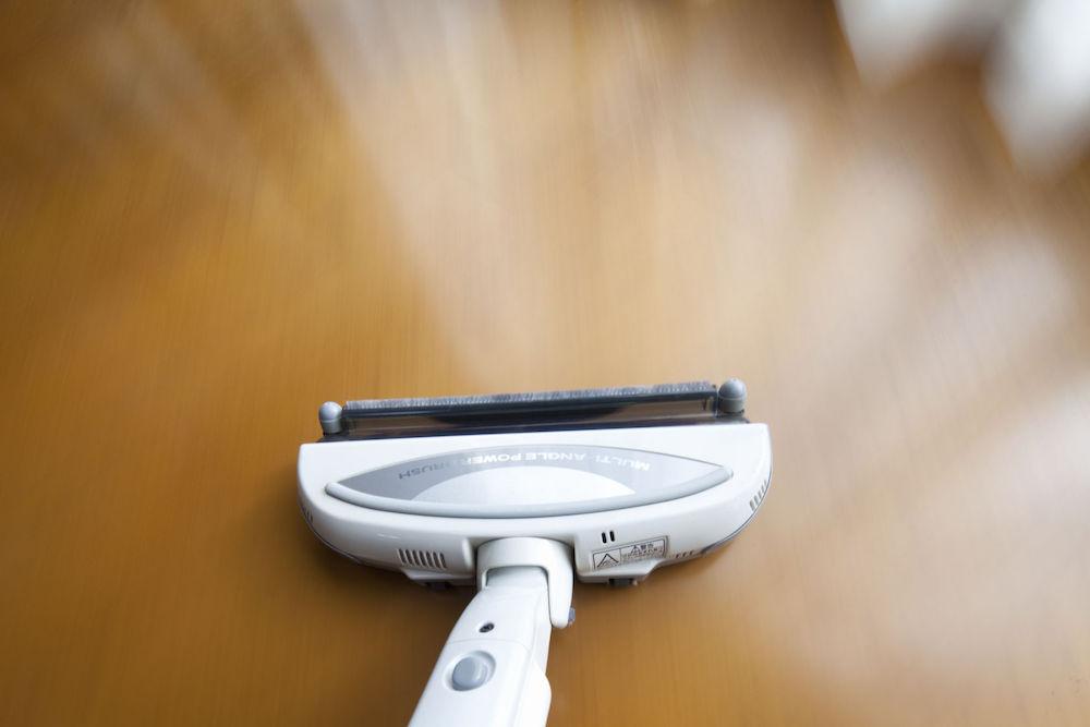 the floor cleaning vacuum cleaner
