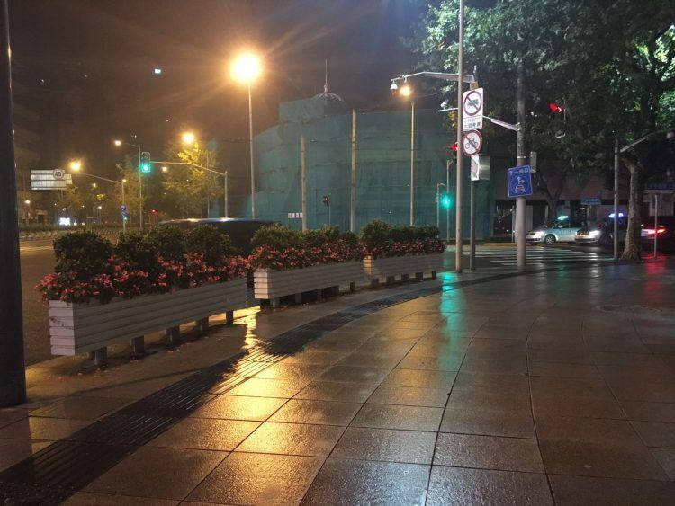 empty street, Shanghai