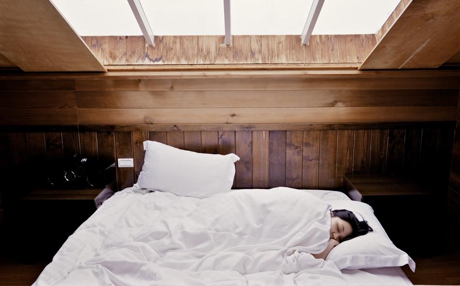 Airbnb sleeping