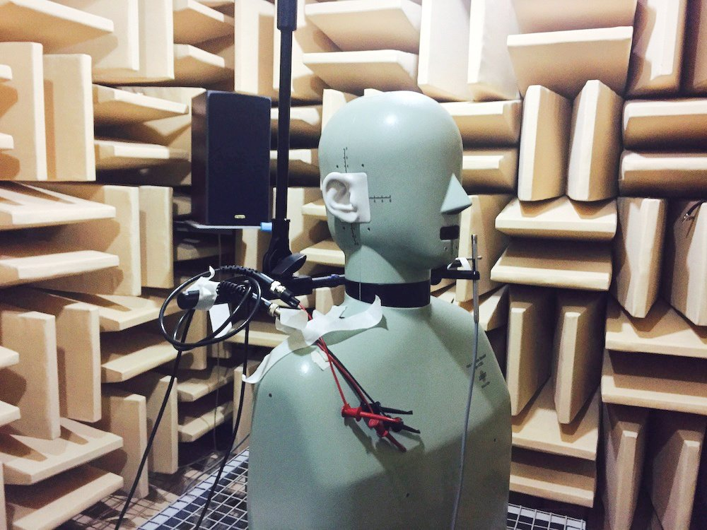 Inside FIIL's anechoic chamber at its R&D center. Photo credit: Tech in Asia.