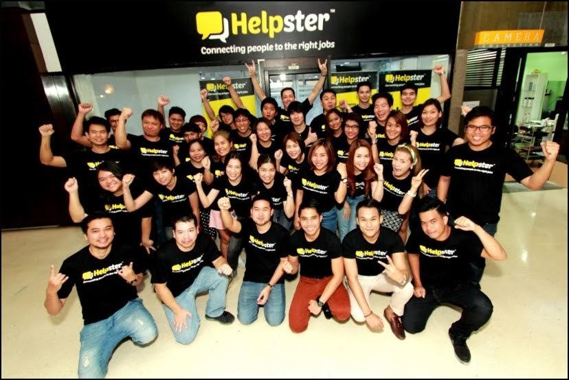 Helpster team. Photo credit: Helpster.