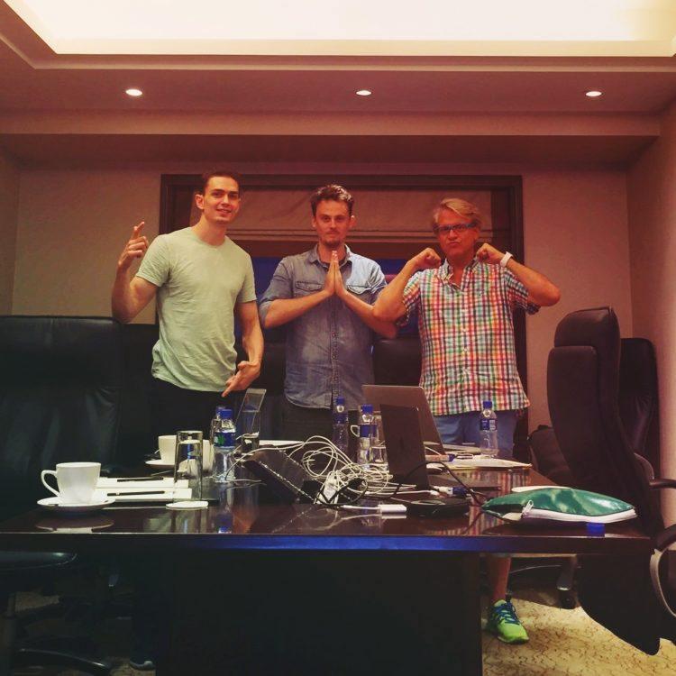 Yolis founding team. Photo credit: Yoli.