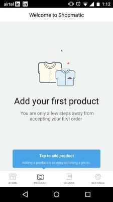Uploading pictures of products is a lot like uploading a set of pictures into a Whatsapp conversation.