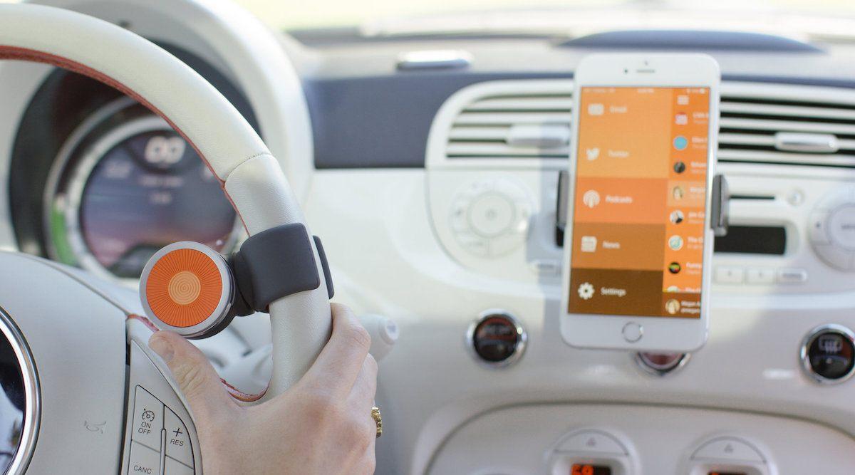 O6 dial on steering wheel