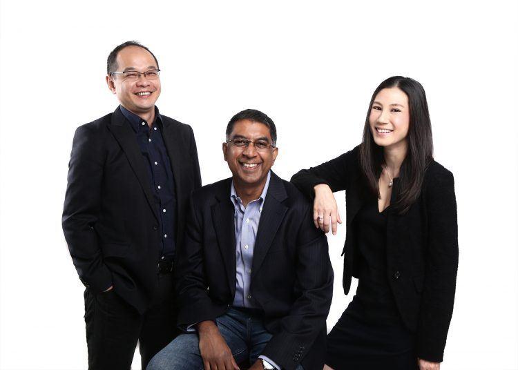 Shopmatic co-founders Anurag Avula, Yen Lim, and Kris Chen. Photo credit: Shopmatic.