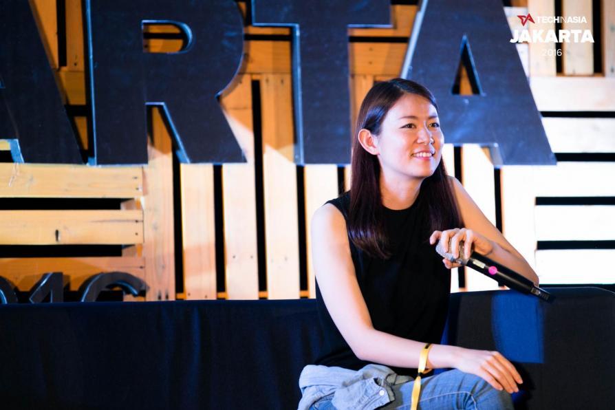 Akiko Naka, CEO of Wantedly.