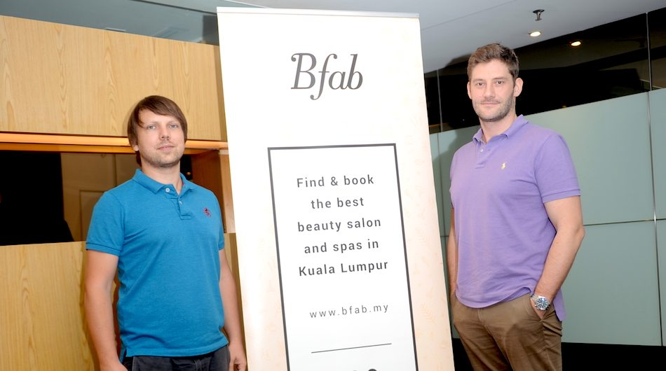 Bfab co-founders Sergey Gaydar and Pawel Netreba.