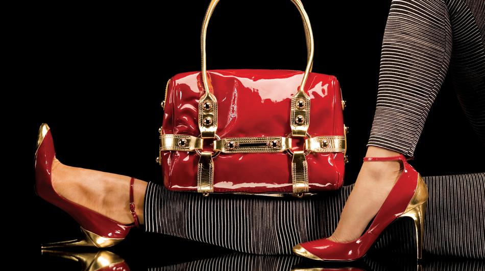 Fashion, luxury shoes, handbag