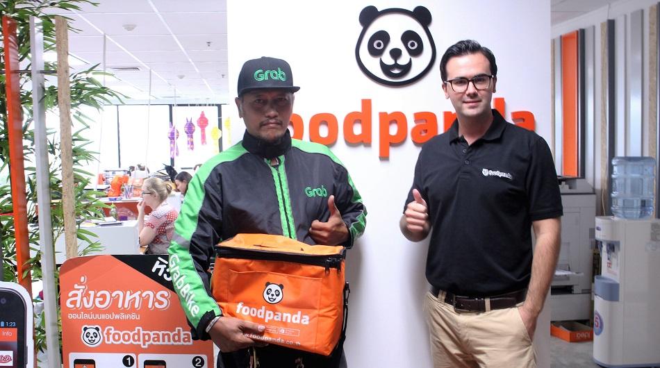 Foodpanda - Grab partnership
