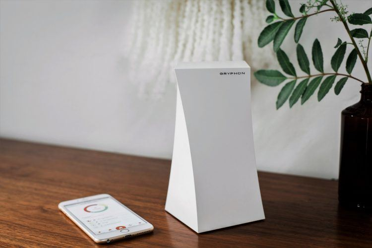 Gryphons smart wifi router. Photo credit: publicity.