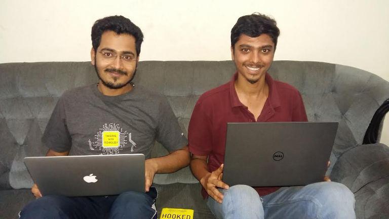 Healofy co-founders Shubham Maheshwari and Gaurav Aggarwal.