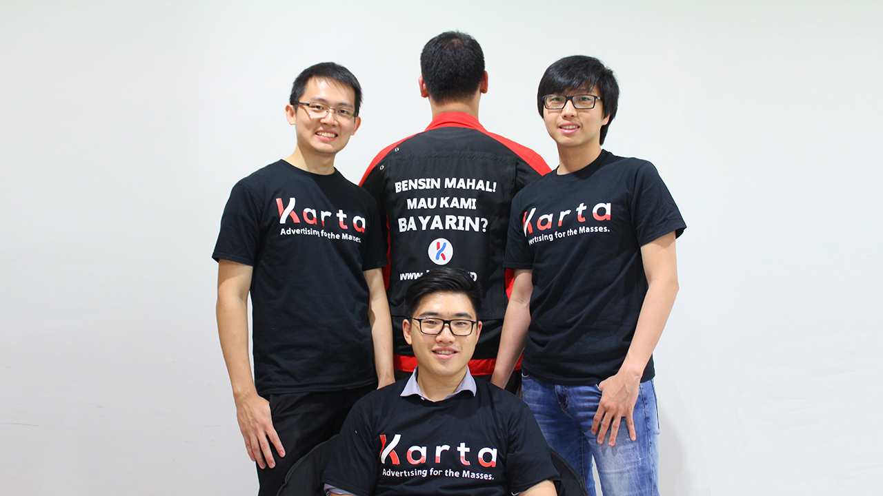 t com karta Karta launches a motorcycle advertising service in Jakarta t com karta