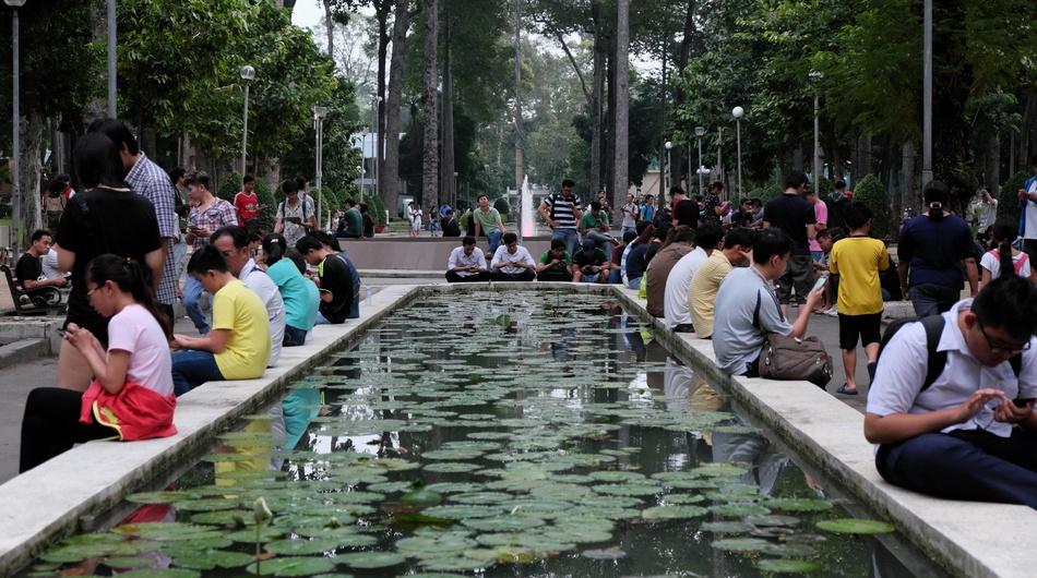 Smartphone users in Vietnam