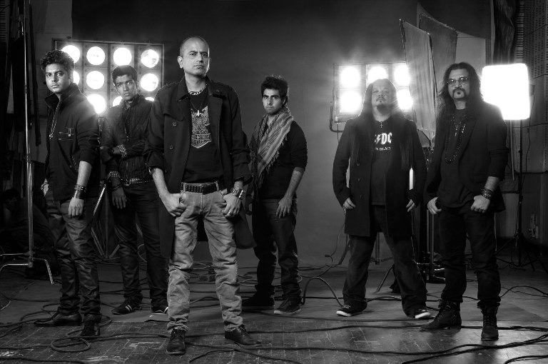 Indian rock band Parikrama is part of the Yappily concert in Bangalore.