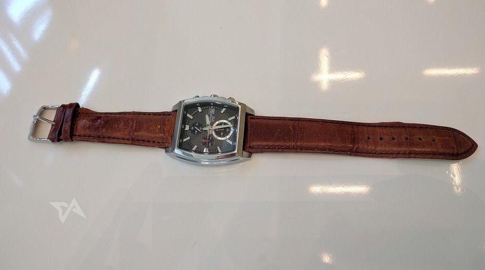 Patch smart watch strap