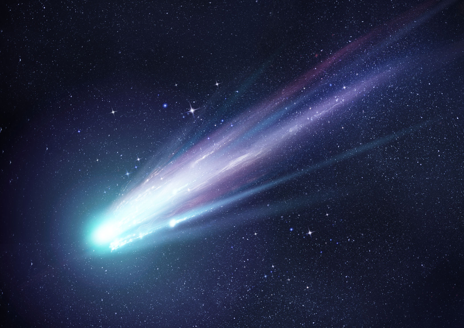 Outer Space Shooting Star