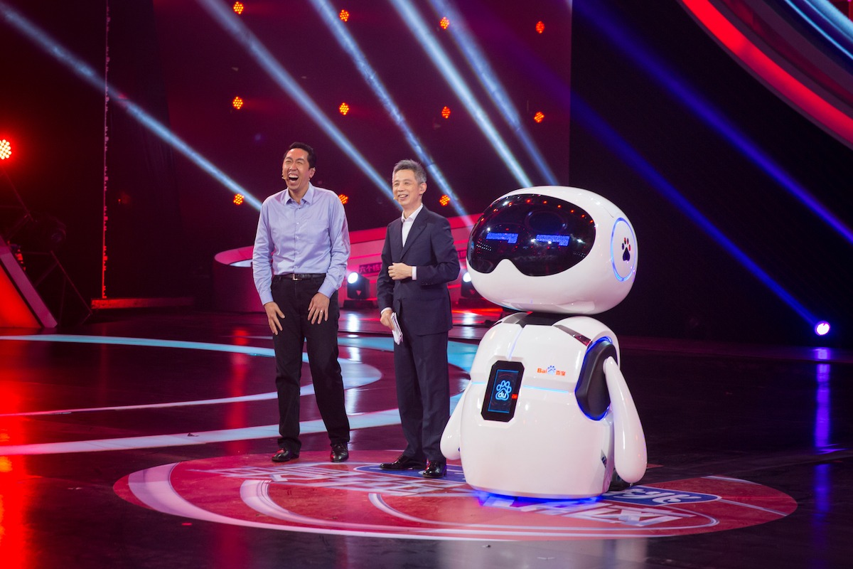In China, AI robot takes on humans in reality TV show