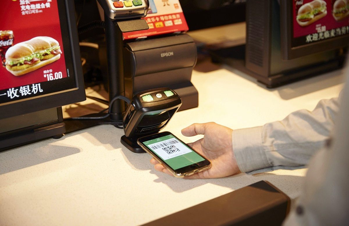 WeChat Pay, mobile payments, cashless payments