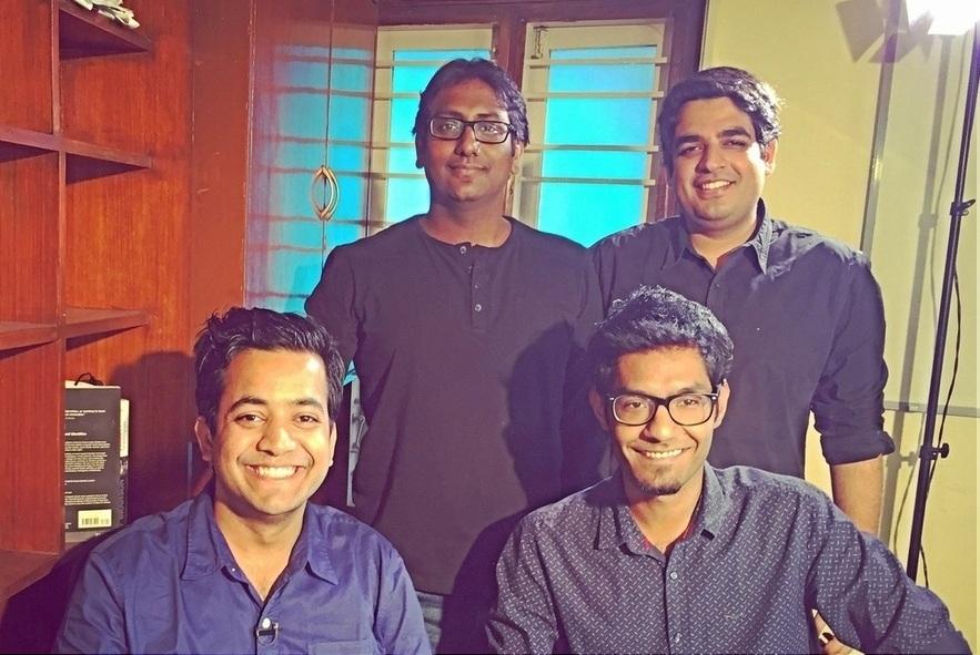 unacademy Sachin and Gaurav. Bottom Roman and Hemesh