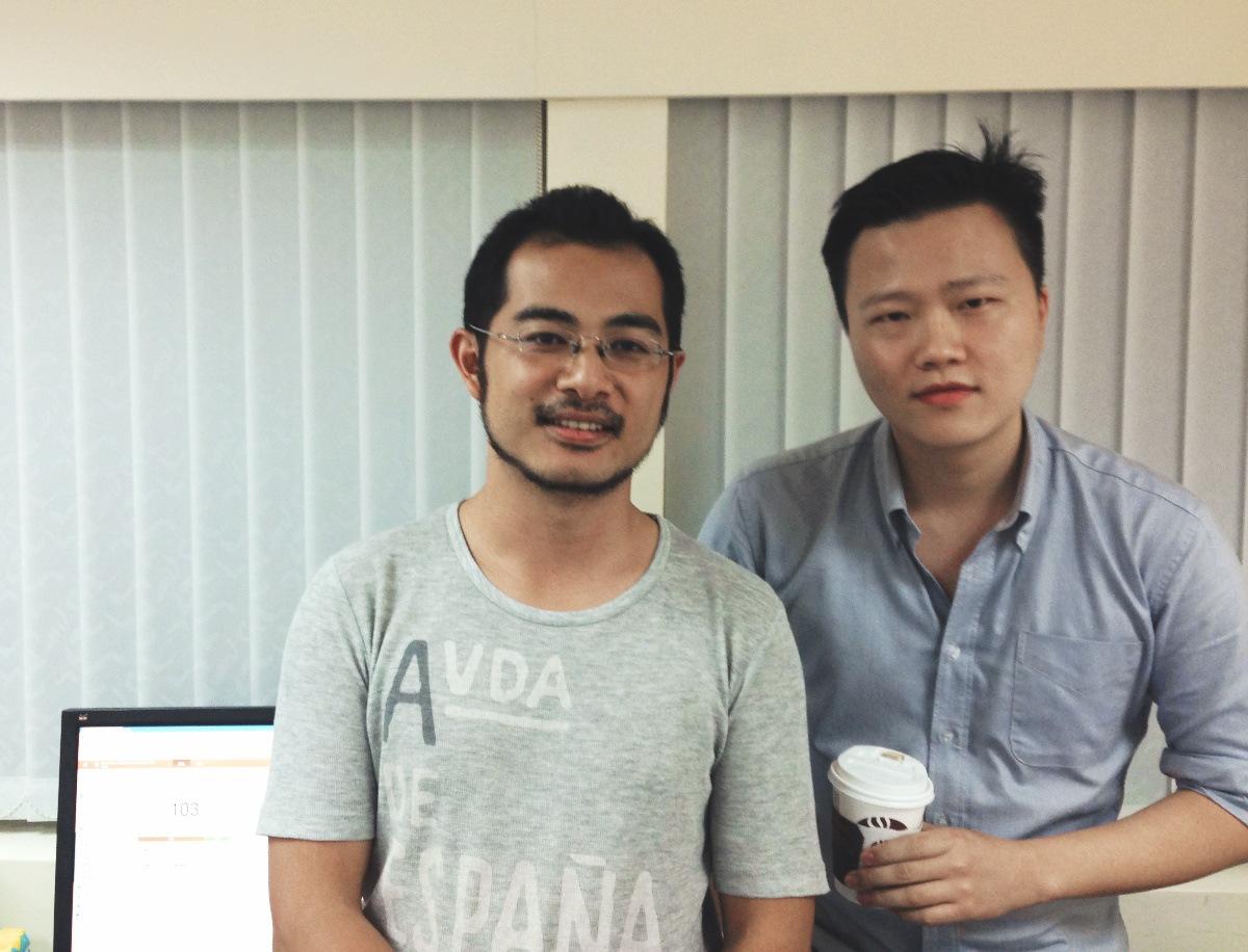 The News Lens - Mario Yang and Joey Chung