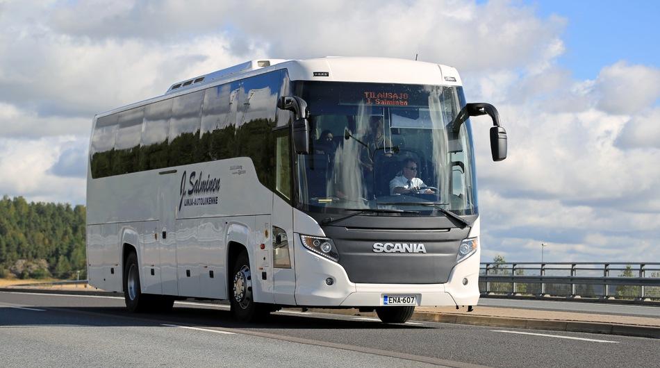 Tourist coach on the road, bus, tourist, holidays