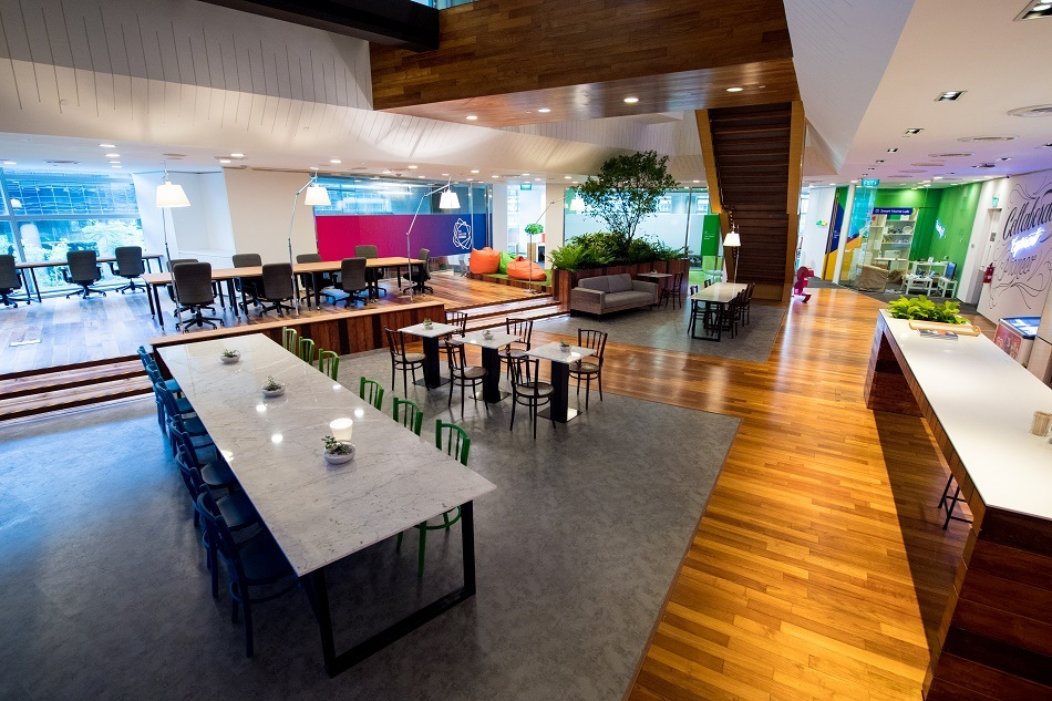 Level3 Unilever co-working space
