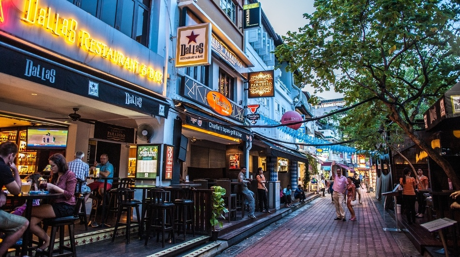 Singapore street, small businesses