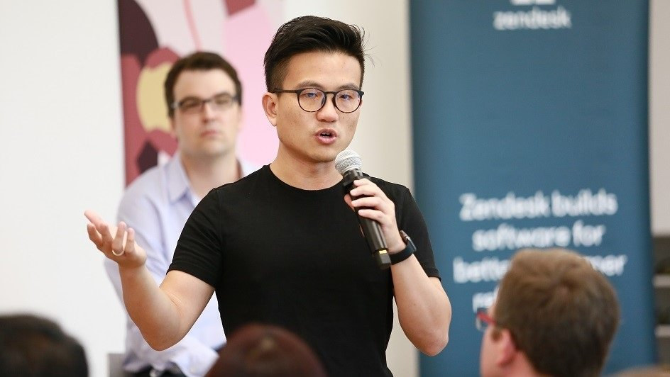 Zendesk GM of chat and Zopim co-founder Royston Tay