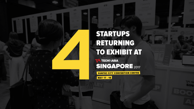 4 startups returning to exhibit at TIA Singapore 2017