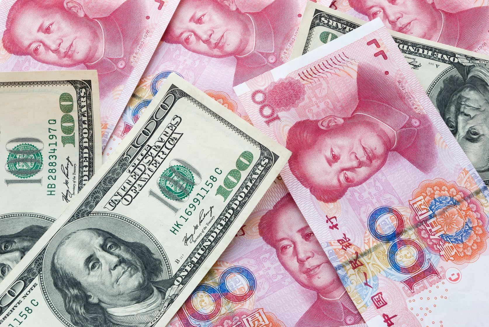 dollars, RMB, renminbi, Chinese currency